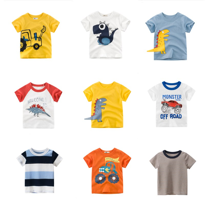 2020 Summer children's clothing boys short sleeve T-shirt kids sweatshirt child's cotton clothes boys t shirt