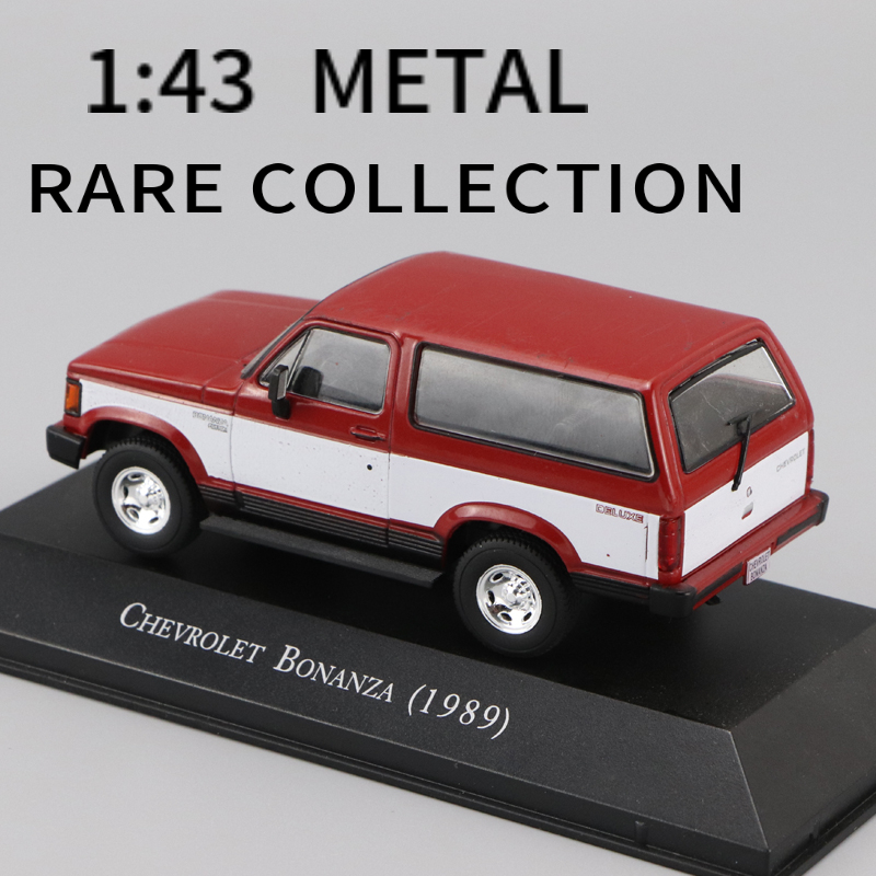1:43 IXO <font><b>CHEVROLET</b></font> BONANZA(1989) DIECAST CAR MODEL COLLECTION TOYS PEREFECT SIZE AND WEIGHT image