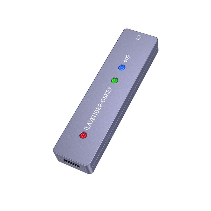 Tools : Lavender DFU Box Tool Key One Button Purple Screen Read Write Serial Number for iPhone 6-X iPad Same as IRepair P10 DFU Box