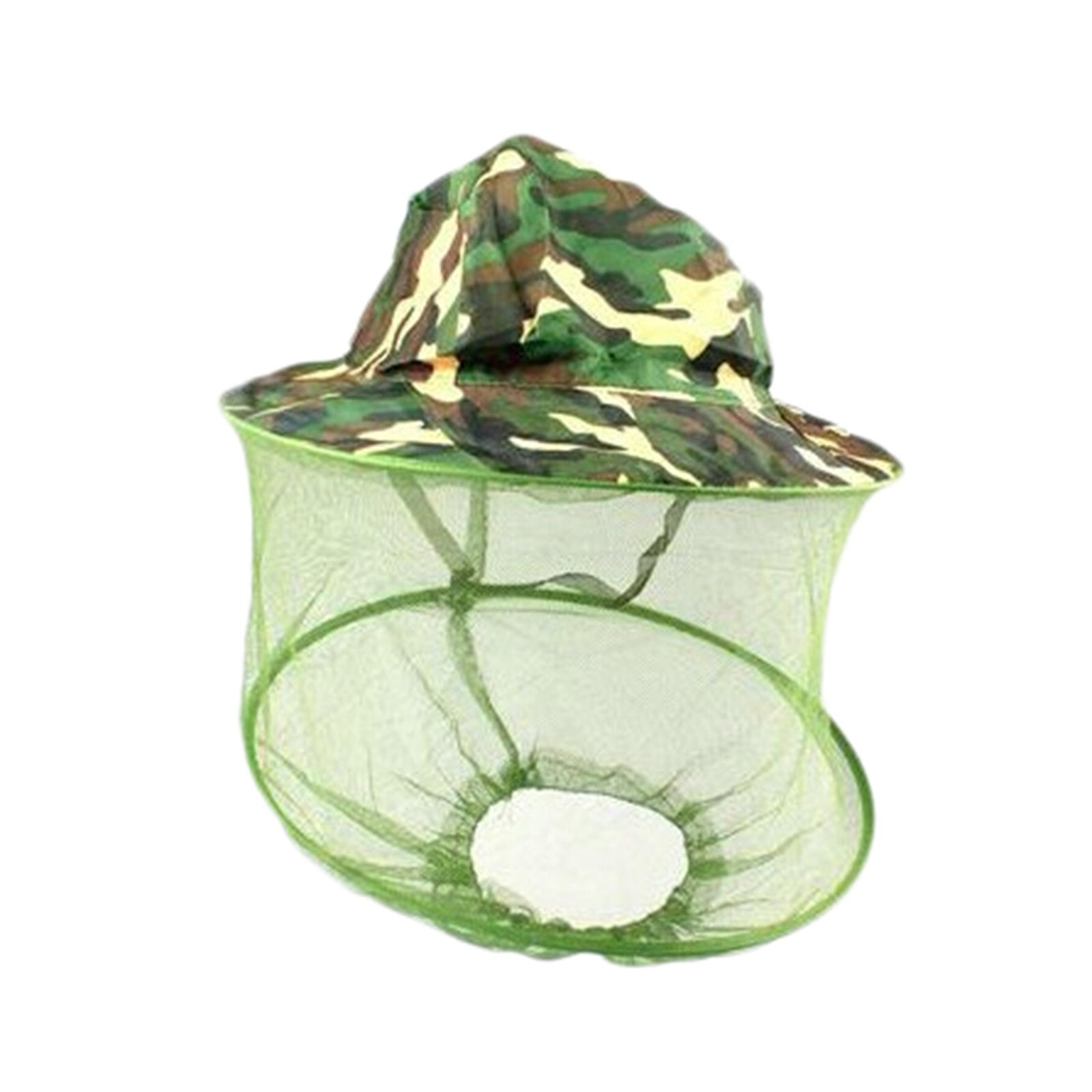 Anti-bee Sun Protection Cap Anti-mosquito Fishing Cap Ultra-light Beekeeper Anti-bee Bite And Face Protection Net
