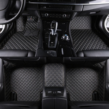 HLFNTF Custom car floor mats For For mazda all model mazda 2 3 5 6 8 CX-4 CX-5 CX-7 CX-9 atenza Tribute car accessories цена и фото