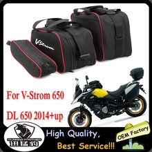 Bagaż motocyklowy torba dla SUZUKI V-STROM DL650 DL 650 czarny bagażnik wewnętrzna torba s vstrom 650 2014-2020 2019 V-STROM 650 wewnętrzna torba