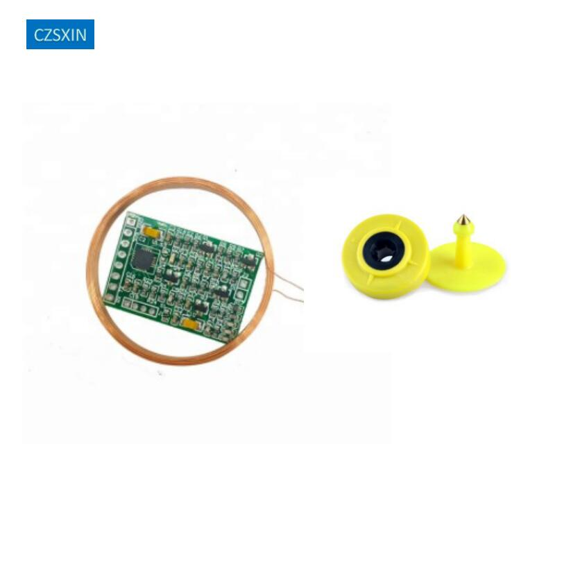 134.2kHz AGV FDXB Long Range ISO11784/85 FDX-B EM ID Animal Tag Ear Tag Reader Moulde UART TTL Interface