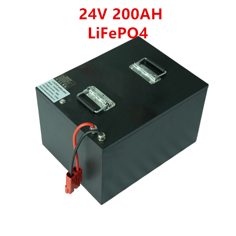 Waterproof <font><b>12V</b></font> 24V <font><b>200AH</b></font> Electric Bicycle Golf Car LiFePO4 <font><b>Battery</b></font> for E tricycle motorcycle Forklift Fork 10A <font><b>Charger</b></font> image