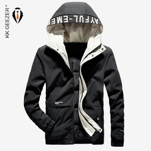 冬のジャケットダウンメンズフード付き新しい2019ブラック厚く暖かいミリタリー85%ダックメンズパーカー厚いパッド入り防水カジュアルルーズコートプラスサイズオーバーコートマルチポケットカジュアル暖かいパーカーブランド高品質