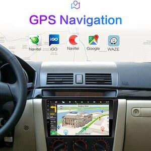 Image 5 - Para Mazda 3 2004 2013 maxx axela android 9,0 coche DVD GPS Radio estéreo 1G 16G WIFI mapa gratuito Quad Core coche 2 din reproductor Multimedia