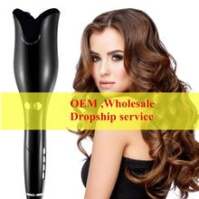 Curling Iron Air Curler Wand Curl 1 Inch Rotating Magic Hair Curling Iron Salon