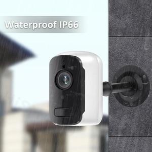 Image 4 - 1080P HD WiFi IP מצלמה חיצוני אבטחה אלחוטית סוללה תשלום מצלמה אודיו מעקב CCTV PIR זיהוי תנועה Camhi פרו