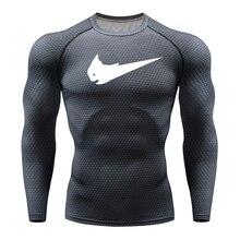 Лидер продаж, компрессионная рубашка для велоспорта, фитнеса, базовый слой, мужская, аниме, бодибилдинг, длинный рукав, Кроссфит, 3D, Супермен, Каратель, Джерси