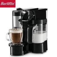 Barsetto fully automatic multi function espresso machine capsule coffee maker one button latte and cappuccino coffee machine