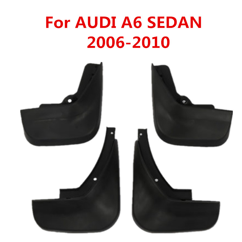 Car Mud Flaps For AUDI A6 SEDAN 2006 2007 2008 2009 2010 Mudflaps Splash Guards Fender Mudguards Mud Flaps AUDI A6 image
