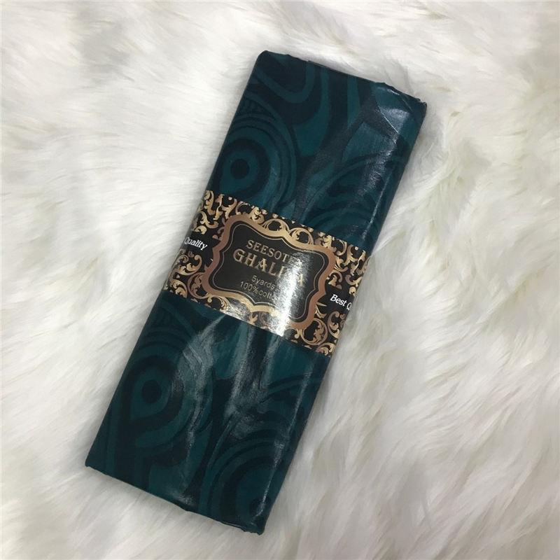 Tissu africain Bazin Riche fait à la main 5 Yards damassé Shadda guinée brocart dentelle tissus pour hommes tissu AB30