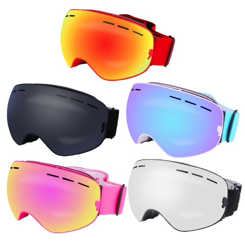 Ski Goggles Double-layer UV400 Anti-fog Glasses Big Ski Mask For Outdoor Skiing Climbing Snowboard Goggles Skiing Snow Men Women