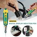 Digital Test Pen Non-Kontakt LCD Digital Display Induktion Stift AC DC 12-250V Tester für Elektriker werkzeuge