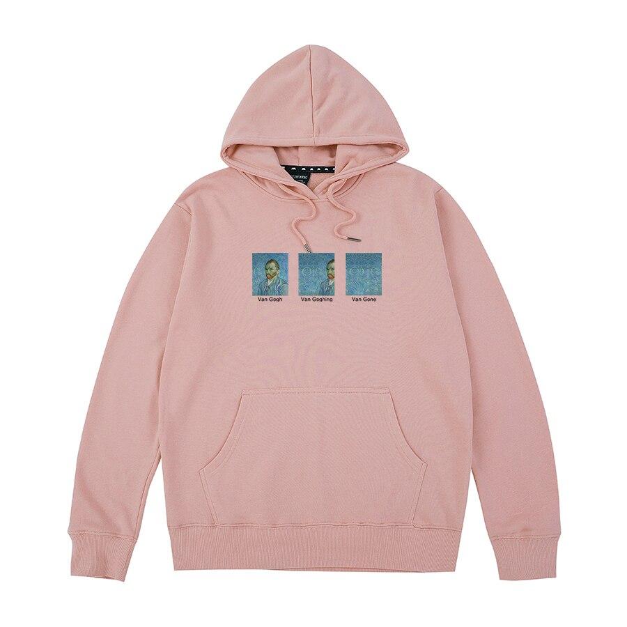 Van Gogh Van Goghing Van Gone Meme Funny Unisex Hipsters Cute Printed Hoodies Sweatshirts Men Women Unisex Cotton