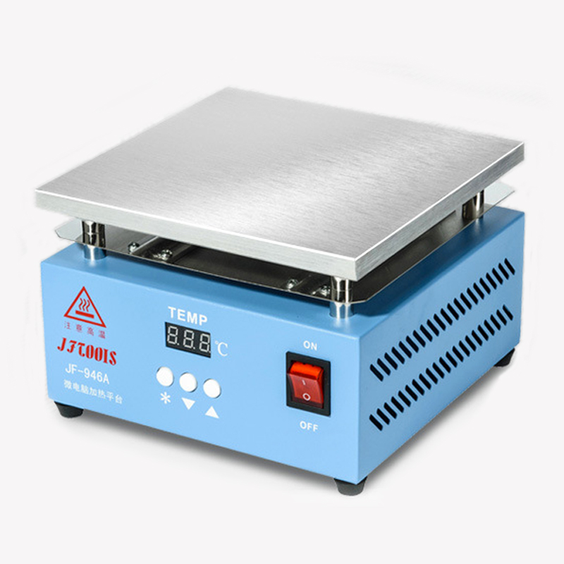 Preheating Plat Electronic Hot Plate BGA Reballing Station Mobile Phone Screen Repair Flex Cable Pre-Soldering Station Tools