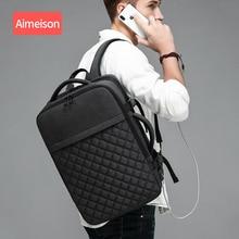 Aimeison Men Travel Backpack Large Capacity Male Mochila Back Anti-thief Bag USB Charging  Laptop Waterproof