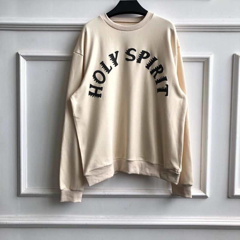 19FW KANYE WEST Hoodie Men Women Upper Body Limit Kids See Ghosts Streetwear Sunday Service Holy Spirit Kanye West Hoodies