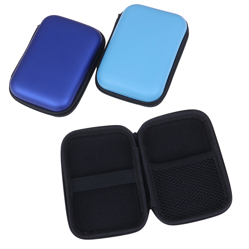 2.5'' Mobile Hard Drive Disk Case Power Storage Bag Headphone Bag Cover Pouch