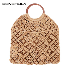 Straw Bags For Women 2019 Quality Hollow Beach Rattan Bag Women's bolsos de paja Bag Bolso Mimbre Sac De Plage Ladies Strandtas настенное бра alfa paja 12030 paja плафон 8704 1 шт