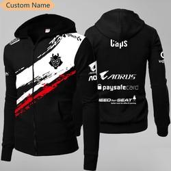 LOL League S9 Season LEC G2 Esports Team Uniform Jersey Wunder Jankos Caps PerkZ Mikyx Hoodie CSGO Game Major Jacket Zip-up Coat