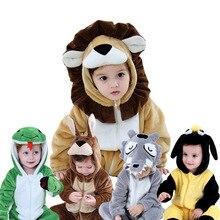 Новинка года; зимняя Пижама для малышей; карнавальный костюм с изображением пони и единорога; комбинезоны для новорожденных с рисунком из аниме; детская одежда со странным кроликом