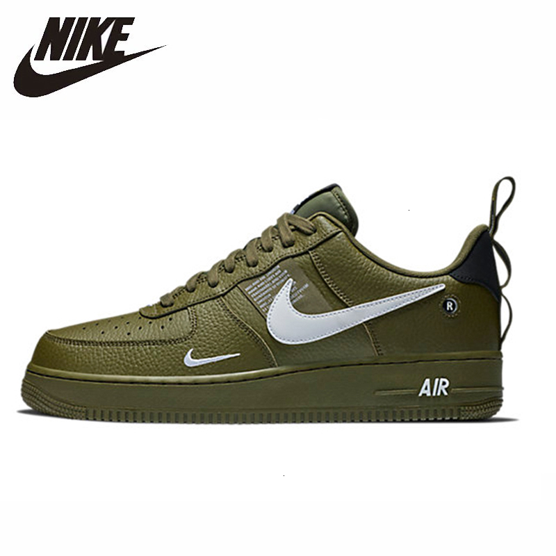 NIKE  Air Force 1 Men Skateboarding Shoes New Arrival Comfortable Outdoor Sports Sneakers For Men  # AJ7747