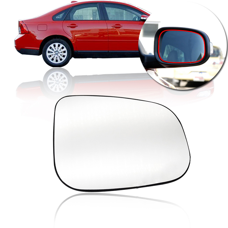 Right Driver side Wide Angle wing mirror glass for Volvo XC90 2007-2014 heated