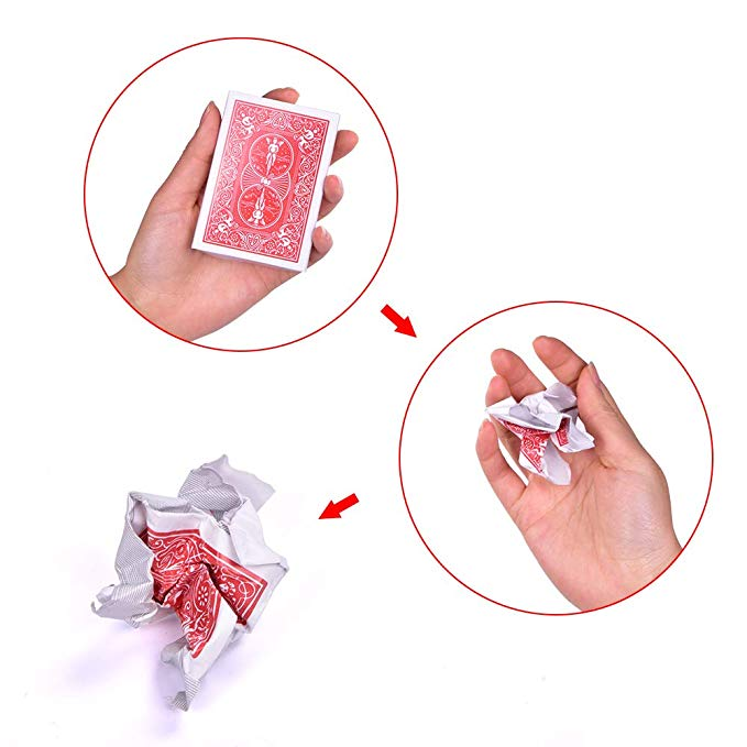 Disposable Deck Magic Tricks Close Up Appearing /Vanishing Card Magia Mentalism Illusion Gimmick Props Comedy Disappearing Shows