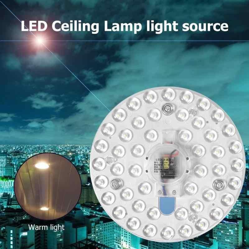 220 v 12/18/24/36 w conduziu a lâmpada do teto substituir a montagem de superfície para a sala de estar do quarto nenhuma poluição nenhuma radiação ultravioleta