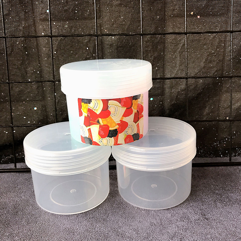 Happy Monkey 20pcs/Lot Slime Box Container 200/220ml Plastic Storage Box For Fluffy Cloud Clear Crystal Slime Clay In Stock