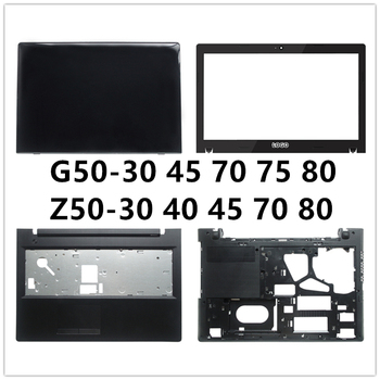 New laptop For Lenovo G50-30 45 70 75 80 Z50-30 40 45 70 80 LCD Back Cover Top Case/LCD Front Bezel/Palmrest/Bottom Base Cover image