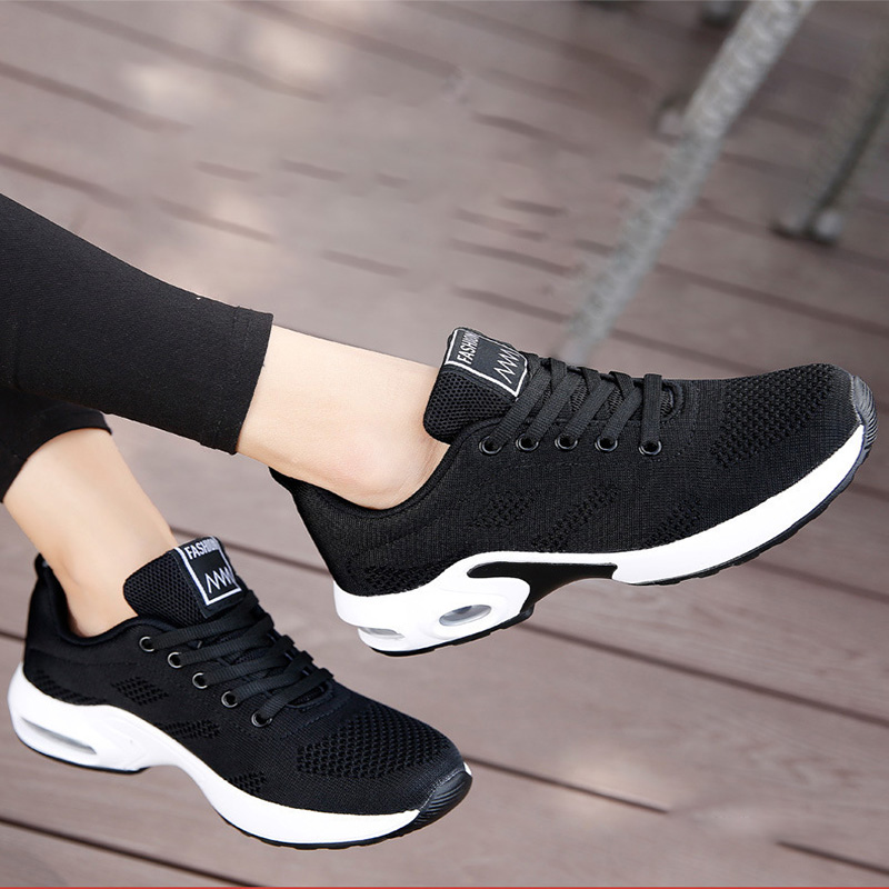 Women Casual Sneakers Fashionable Vulcanize Shoes Platform Spring Running Sport Sneakers Breathable Tennis Air Large Size Shoes 3