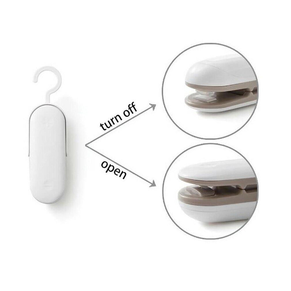 Vacuum Sealer Machine For Food Chip Bag Sealer Mini Portable Heat Sealer Hand Pressure Sealing Machine