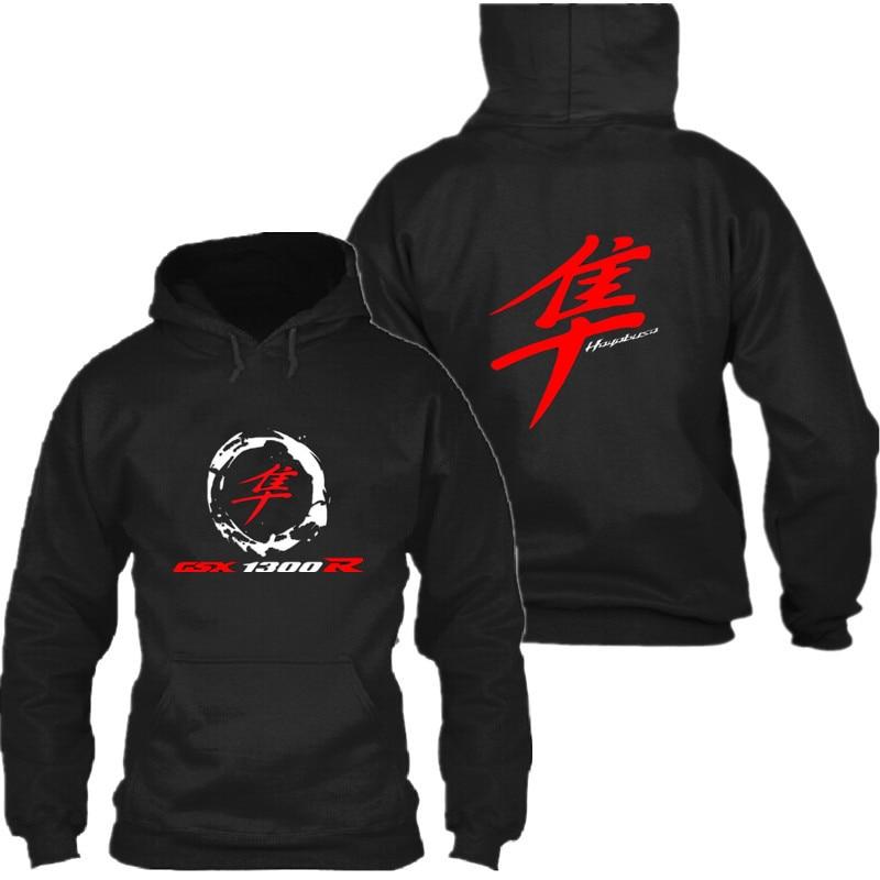 2018 Fall Winter Men Suzuki GSX R Hoodie Gsxr1300 Sweatshirts Pullover Hayabusa Coat Casual Jacket Suzuki Hoodie