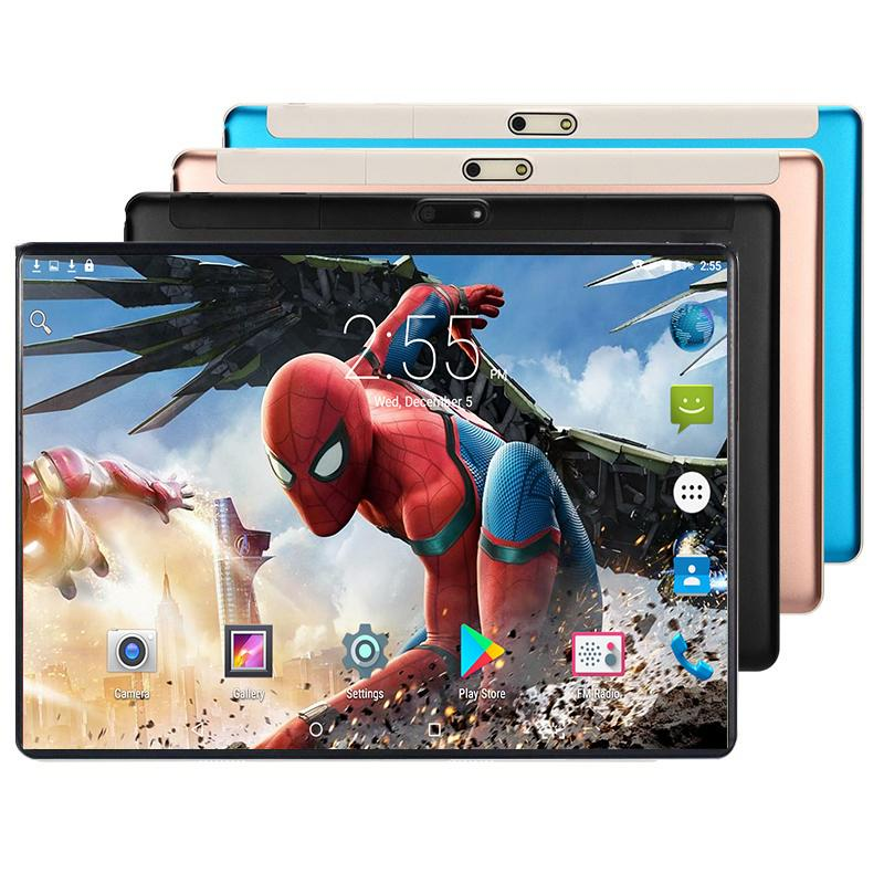 2020 Kids Tablet 10.1 Inch Games Tablet PC Octa Core 6GB RAM 128GB ROM Android 8.0 WiFi Bluetooth Dual SIM Cards 4G LTE Tablets