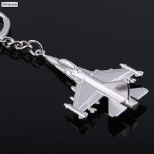 New Aircraft Metal Key Chain Airplane Keychains gift Car Key Ring Bag Classic key holder Pendant Party Gift jewelry