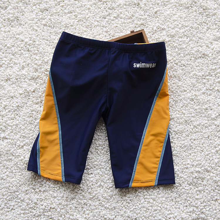 The Best Boys Swimming Trunks Children Swimwear Knee Length Shorts Beachwear Fifth Pants Cartoon Boys Trunks Swimsuit Kids Bathing Suits Strengthening Waist And Sinews