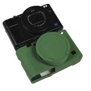 Image 3 - Funda de silicona para cámara Sony RX100 VII, funda protectora para cámara Sony cyber shot RX100 VII RX100 M7 Premium Com Frame Skin funda protectora