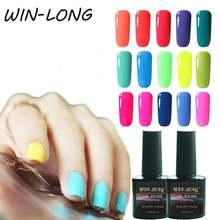 Одноцветный Полупостоянный Гель лак для ногтей 10 мл