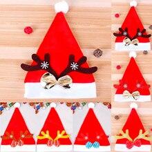 Рождественские шапки-бини, шапки, женские зимние вязаные шапки, шапки-бини для дам, женские шапки, фетровые шапки с медведем, животным, бантиком#3