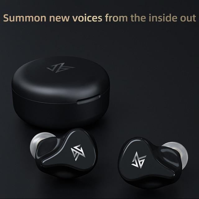 KZ Z1 Pro TWS Bluetooth 5.2 True Wireless Earphones Game Earbuds Touch Control Noise Cancelling Sport Headset KZ S2 S1 ZSX DQ6 5