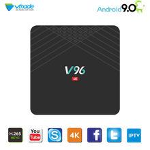 Vmade smart mini tv box android 90 ОС Восьмиядерный h265/hevc