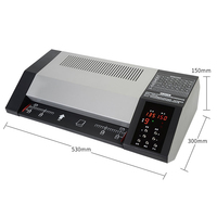 Laminator/A3/A4 laminating machine/8 roller photo laminating machine/330mm automatic cold paper laminating machine home