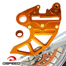 For KTM EXC EXCF XC SX SXF XCF XCFW XCW 125 150 200 250 300 350 450 500 530 Rear Brake Disc Guard Cover Axle Protector Parts