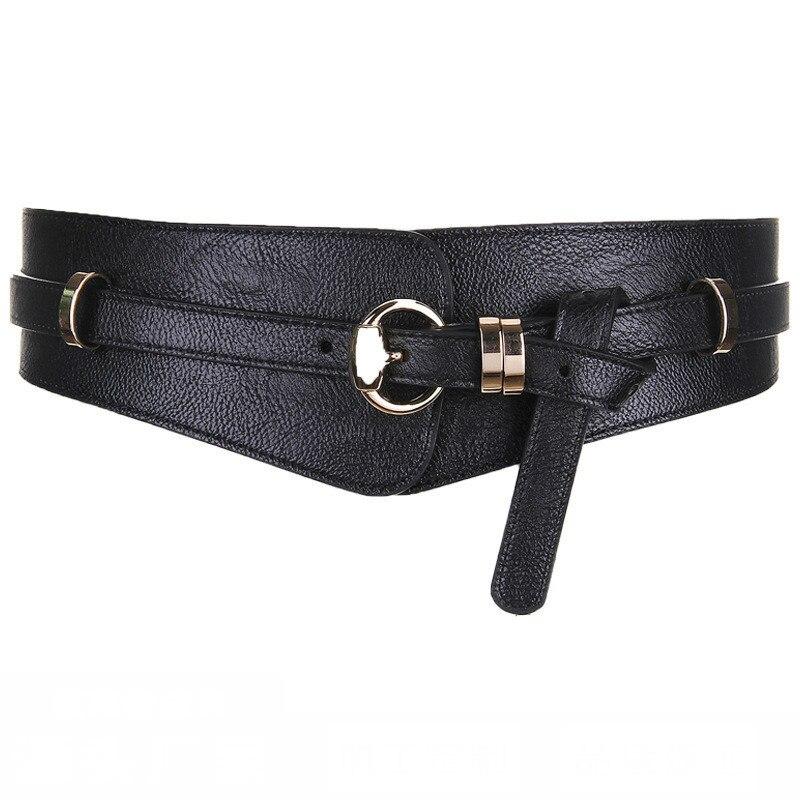 2020 New Design Spring All-match Waistband Female Fashion PU Leather Belts For Women Solid Stylish Belt Trendy Corset Belt ZK780