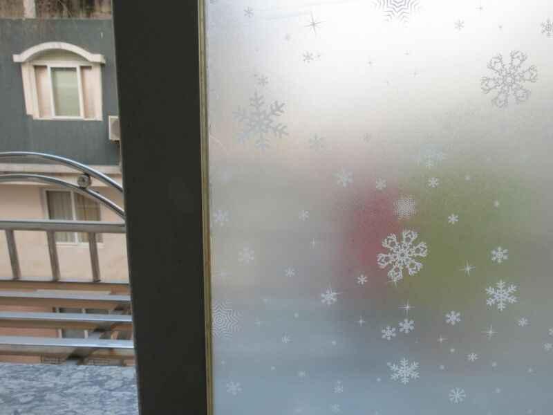 Конфиденциальности Стекло Декор матовая оконная пленка статическая цепляется глазурь Наклейка 45 см х 2 м
