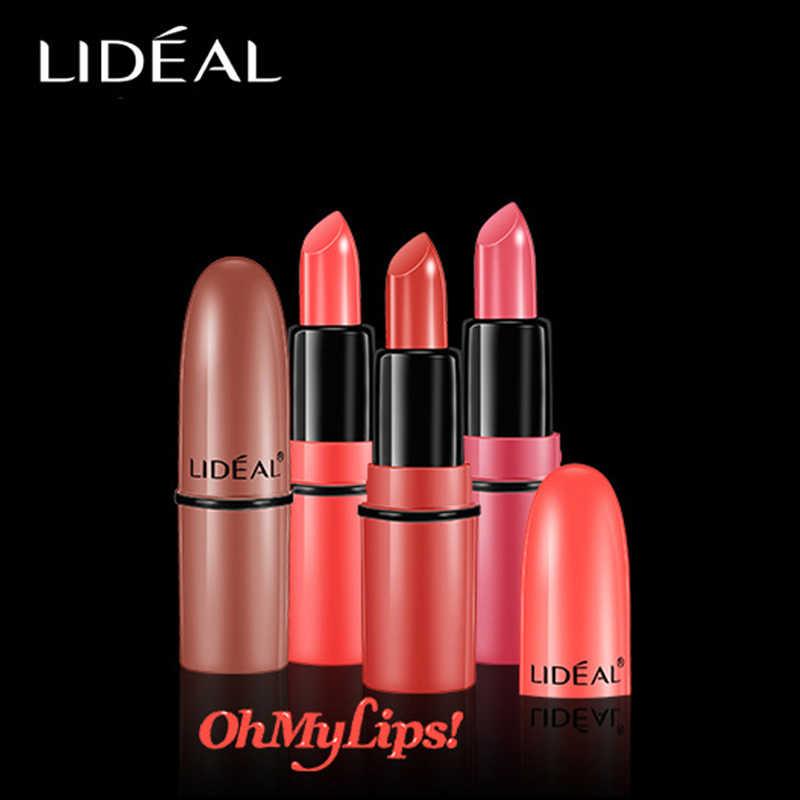 Lideal 5 Pcs/set Mini Matte Nude Lipstik Tahan Air Tahan Lama Makeup Moisturizing Lip Gloss Membuat Wanita Kecantikan Kosmetik