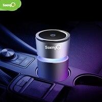 Saengq purificador de ar do carro portátil purificador de íon negativo mini usb purificador de ar anion purificador de ar purificador de ar para o carro escritório em casa