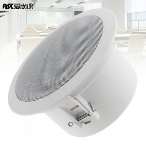 Image 1 - 6W Mode Wasserdicht Haushalt Eingebettet Soundbar Decke Lautsprecher Öffentlichen Broadcast Hintergrund Musik Lautsprecher für Home Restaurant